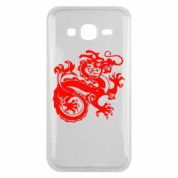 Чехол для Samsung J5 2015 Дракон