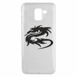 Чохол для Samsung J6 Дракон