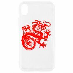 Чехол для iPhone XR Дракон