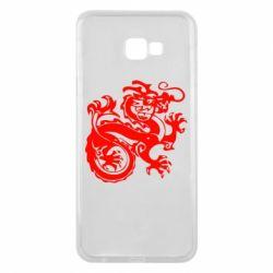 Чехол для Samsung J4 Plus 2018 Дракон