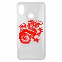 Чехол для Xiaomi Mi Max 3 Дракон