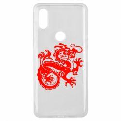 Чехол для Xiaomi Mi Mix 3 Дракон