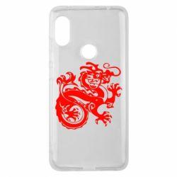Чехол для Xiaomi Redmi Note 6 Pro Дракон