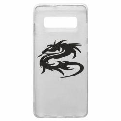 Чохол для Samsung S10+ Дракон