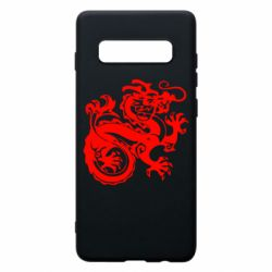 Чехол для Samsung S10+ Дракон