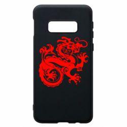 Чехол для Samsung S10e Дракон