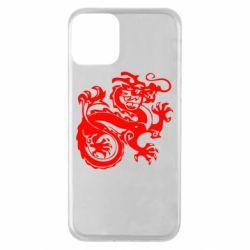 Чехол для iPhone 11 Дракон