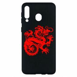 Чехол для Samsung M30 Дракон