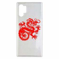 Чехол для Samsung Note 10 Plus Дракон