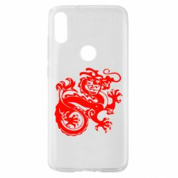 Чехол для Xiaomi Mi Play Дракон