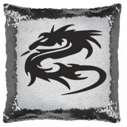 Подушка-хамелеон Дракон