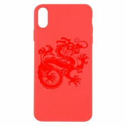 Чехол для iPhone X/Xs Дракон