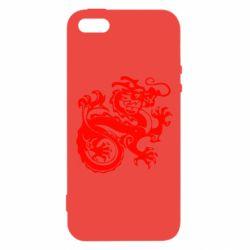 Чехол для iPhone5/5S/SE Дракон