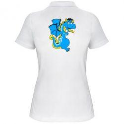 Женская футболка поло Дракоша - FatLine