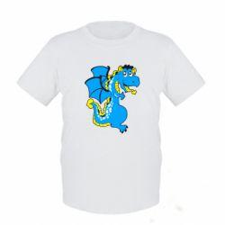 Детская футболка Дракоша - FatLine