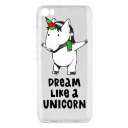 Чехол для Xiaomi Mi5/Mi5 Pro Dream like a unicorn