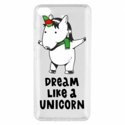 Чехол для Xiaomi Mi 5s Dream like a unicorn