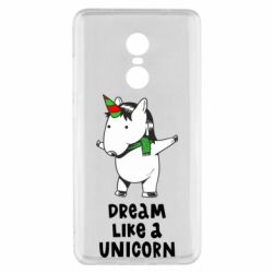 Чехол для Xiaomi Redmi Note 4x Dream like a unicorn
