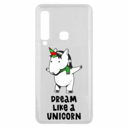 Чехол для Samsung A9 2018 Dream like a unicorn