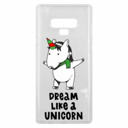 Чехол для Samsung Note 9 Dream like a unicorn