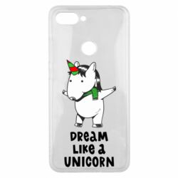 Чехол для Xiaomi Mi8 Lite Dream like a unicorn