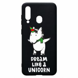 Чехол для Samsung A60 Dream like a unicorn
