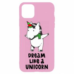Чехол для iPhone 11 Dream like a unicorn