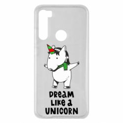 Чехол для Xiaomi Redmi Note 8 Dream like a unicorn