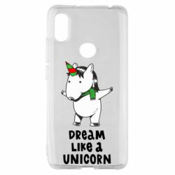 Чехол для Xiaomi Redmi S2 Dream like a unicorn