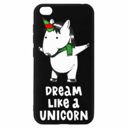 Чехол для Xiaomi Redmi Go Dream like a unicorn