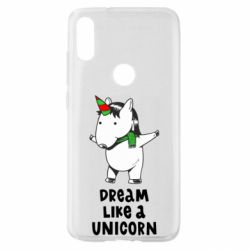 Чехол для Xiaomi Mi Play Dream like a unicorn
