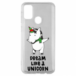 Чехол для Samsung M30s Dream like a unicorn