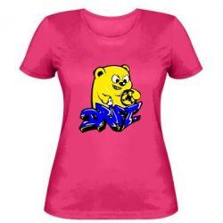 Женская футболка Drift Bear - FatLine