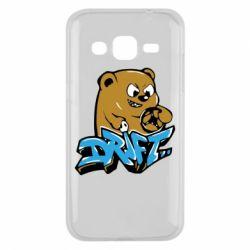 Чехол для Samsung J2 2015 Drift Bear