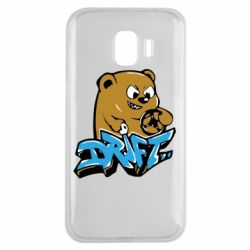Чехол для Samsung J2 2018 Drift Bear