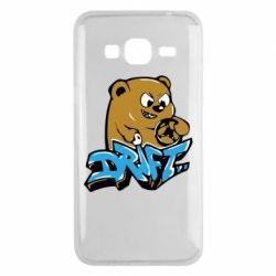 Чехол для Samsung J3 2016 Drift Bear