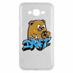 Чехол для Samsung J7 2015 Drift Bear