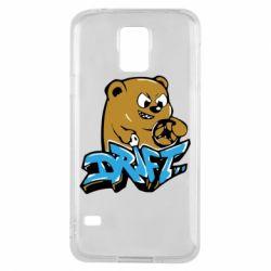 Чехол для Samsung S5 Drift Bear