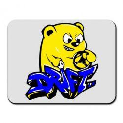 Коврик для мыши Drift Bear - FatLine