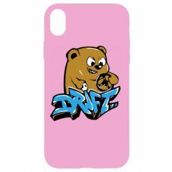 Чехол для iPhone XR Drift Bear