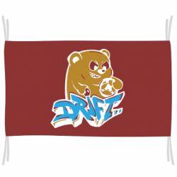 Флаг Drift Bear
