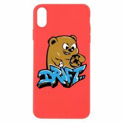 Чехол для iPhone X/Xs Drift Bear