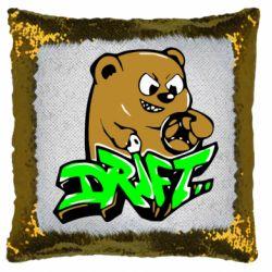 Подушка-хамелеон Drift Bear