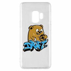 Чехол для Samsung S9 Drift Bear