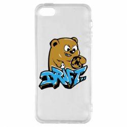 Купить Чехол для iPhone5/5S/SE Drift Bear, FatLine