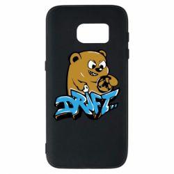 Чехол для Samsung S7 Drift Bear