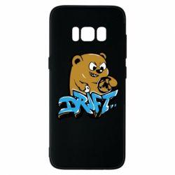 Чехол для Samsung S8 Drift Bear