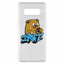 Чехол для Samsung Note 8 Drift Bear