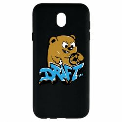 Чехол для Samsung J7 2017 Drift Bear