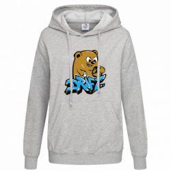 Женская толстовка Drift Bear - FatLine